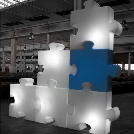 Luminaire pop puzzle