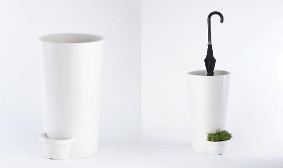 Umbrella Pot : Un design écolo