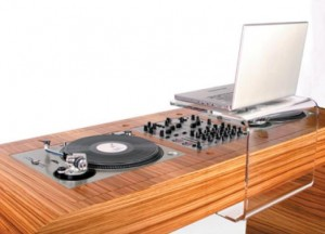hoerboard, mixer design - blog esprit design - Meuble Dj Design