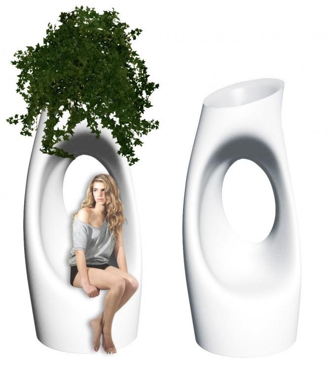 Holly all par philippe starck blog esprit design - Pot geant exterieur ...