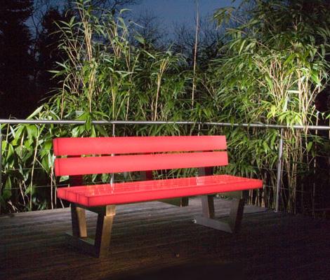 banc lumineux par frellstedt blog esprit design. Black Bedroom Furniture Sets. Home Design Ideas
