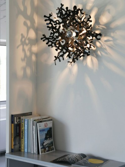 Lampes sculptures par Lumen Center Italia
