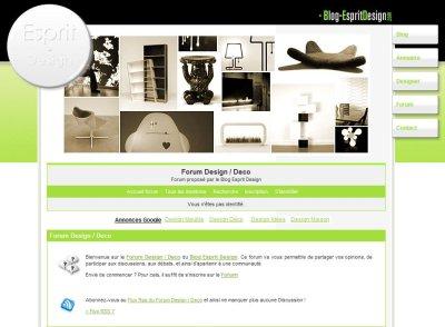 forum design deco blog esprit design. Black Bedroom Furniture Sets. Home Design Ideas