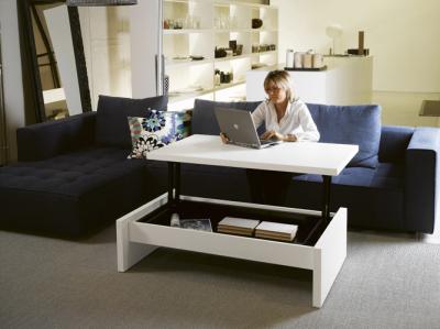 Table basse modulable seattle blog esprit design - Table rehaussable but ...