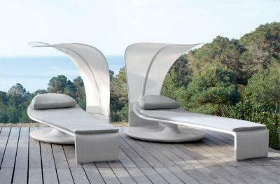 Chaise longue lounge par EOOS