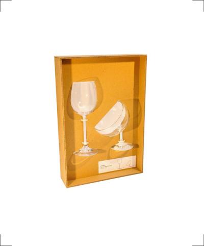 Human & Dog Wine Glass, alice wang