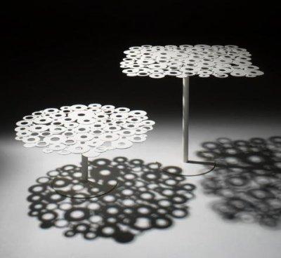 Tables centrino par Massimo Imparato et Enzo Carbone