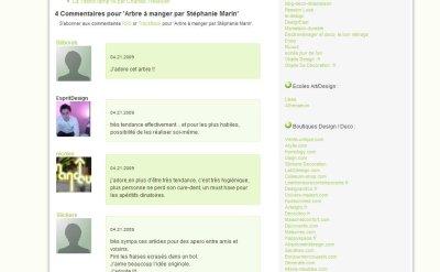 Utilisation de Gravatar sur le Blog Esprit Design