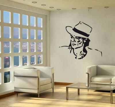 Hommage éternel : Stickers Michael Jackson
