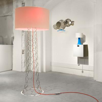 Lampe pull & pull over par E27