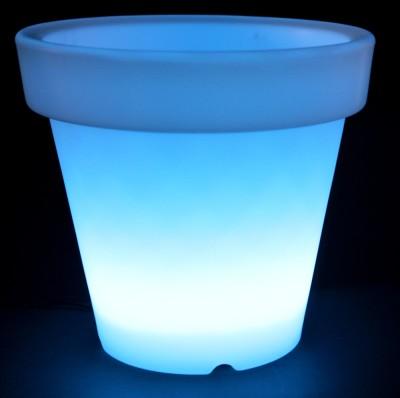 Cache pot lumineux à LED