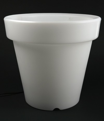 Cache pot lumineux à LED