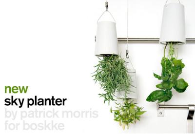 Sky planter, la verdure s'installe partout !