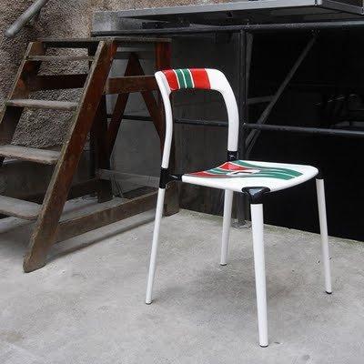 Chaises de compétition par la société Laisr