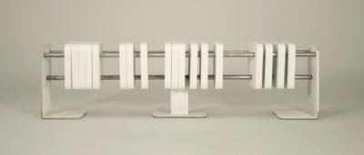 Banc Abacus par Hallie Stevens