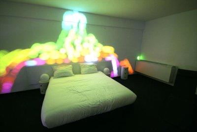 The white hotel, disturb me installation