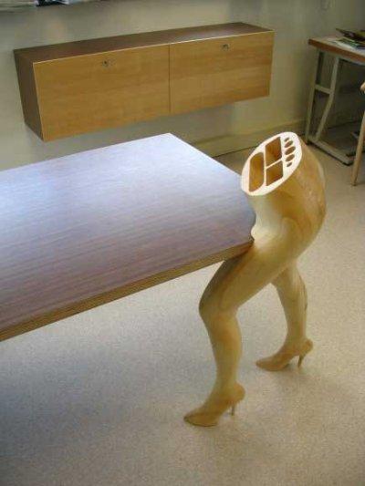 Mobilier érotique par Mario Philippona