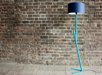 Happy Lamp by VaughShannon