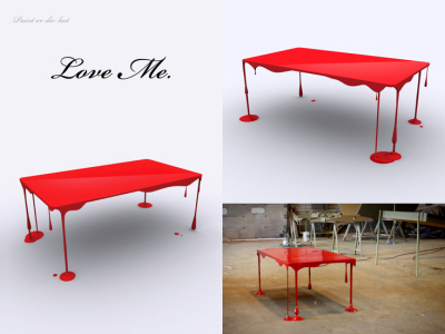 Bloody Table par John Nouanesing