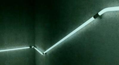 Rampe d'escalier concept LED par Zoon Design