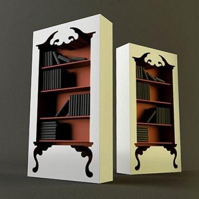 Bibliothèque vintage par Jaren Goh