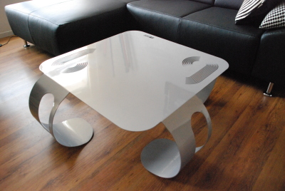 Table basse en Plexiglas par Sif & David création