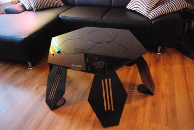 Table basse en Plexiglas par Sif & David création