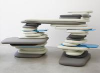 Meubles plateforme par Robert Stadler