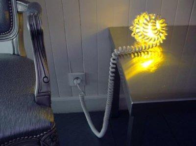 viDame créatiOn, lampe spirale