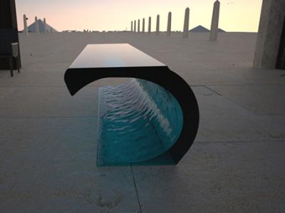 Table illusion par Lee J. Rowland