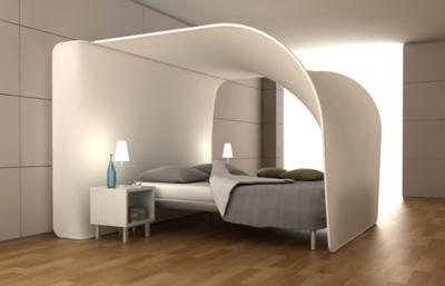 ciel de lit celeste par kris van den berghe blog esprit design. Black Bedroom Furniture Sets. Home Design Ideas