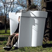 Chaise Pot par Fabio Novembre