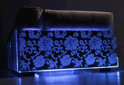 Lighted sofa par Colico
