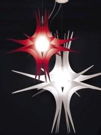 Lampes sculptures par Lumen Center Italia