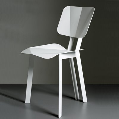 Chaise origami par so takahashi blog esprit design for Chaise origami