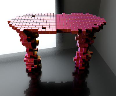 Table pixable Joongho Choi Design