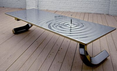 Table illusion par Lee J. Rowland