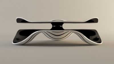 Coffee table hypnotique par Svilen Gamolov