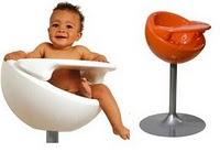 Chaise pour enfant Nest de Mozzee