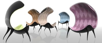 Dima Loginoff, design Russe : fauteuil dounyasha