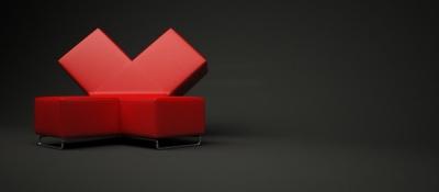Sofa cross par Elvis Pennetuzzo