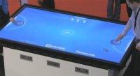 Plasma tactile pour Air Hockey par Panasonic