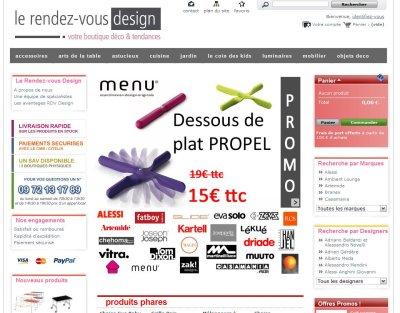 rdvdesign boutique partenaire du Blog Esprit Design