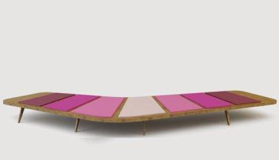 Banc Airbench par le studio Arne Quinze