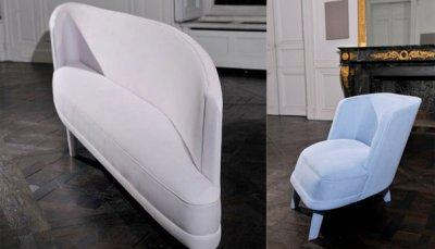 Sofa Berlin inspiré par Carl Malmsten