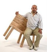 Conflict Chair par Avid Gil
