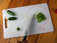 cutting scale : La planche balance