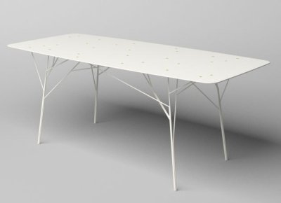 Tables arbustres par Zhili Liu