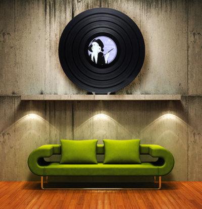 Disque vinyle 95 tours par Kiteaz