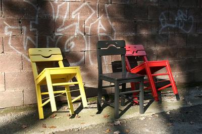 Mes chaises ont du caractère